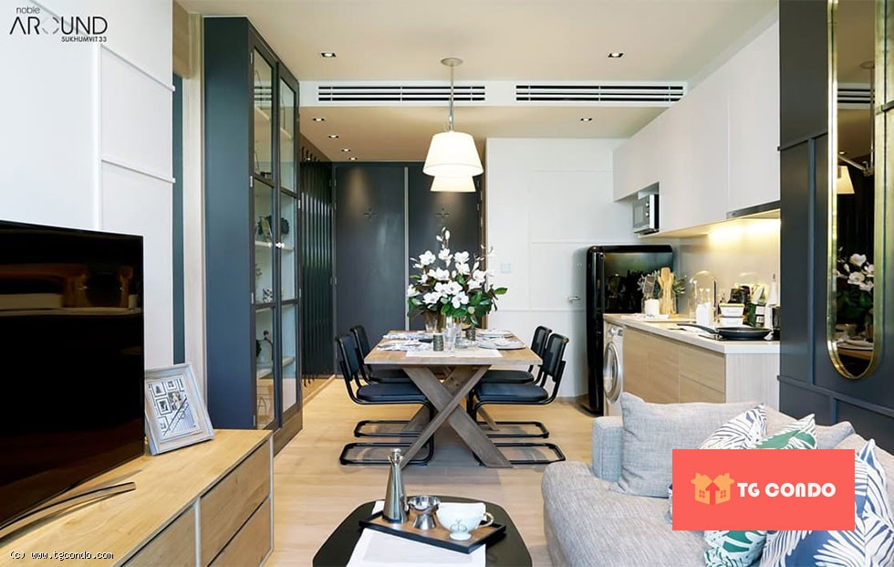 Noble Around Sukhumvit 33 Condo For Sale