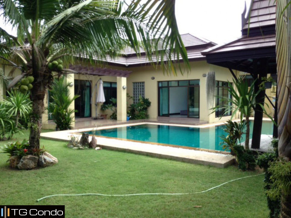 Grand garden home private pool bangkok pattaya condo for for Pool garden house