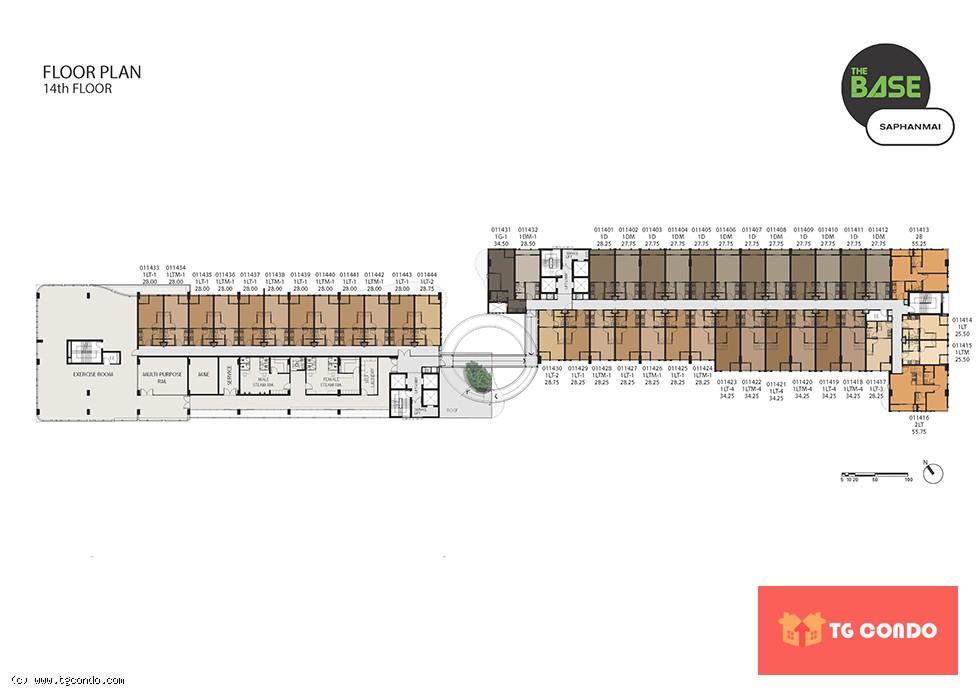 THE BASE Saphanmai Condo For Sale