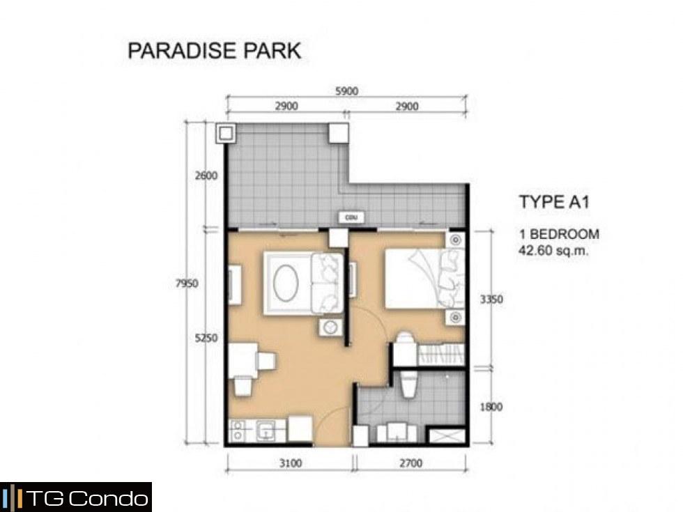 Paradise Park Condo Pattaya