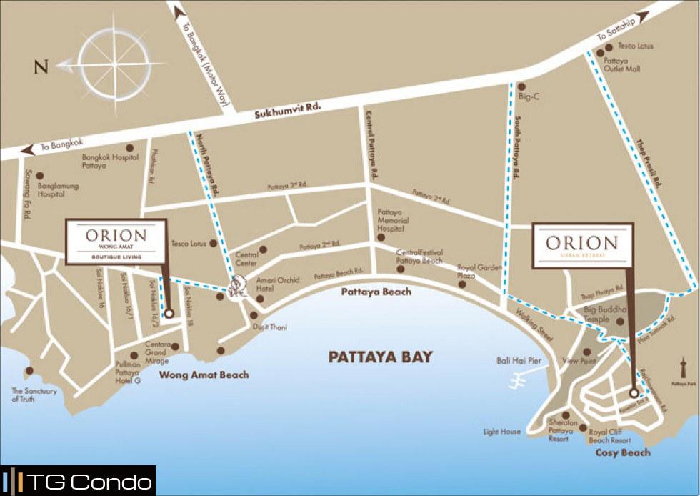 Orion Wong Amat Condo Pattaya