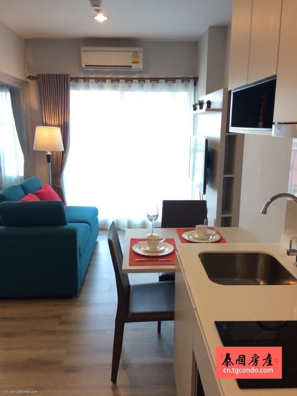 Centric Sea For Rent,1bedroom,Garden View