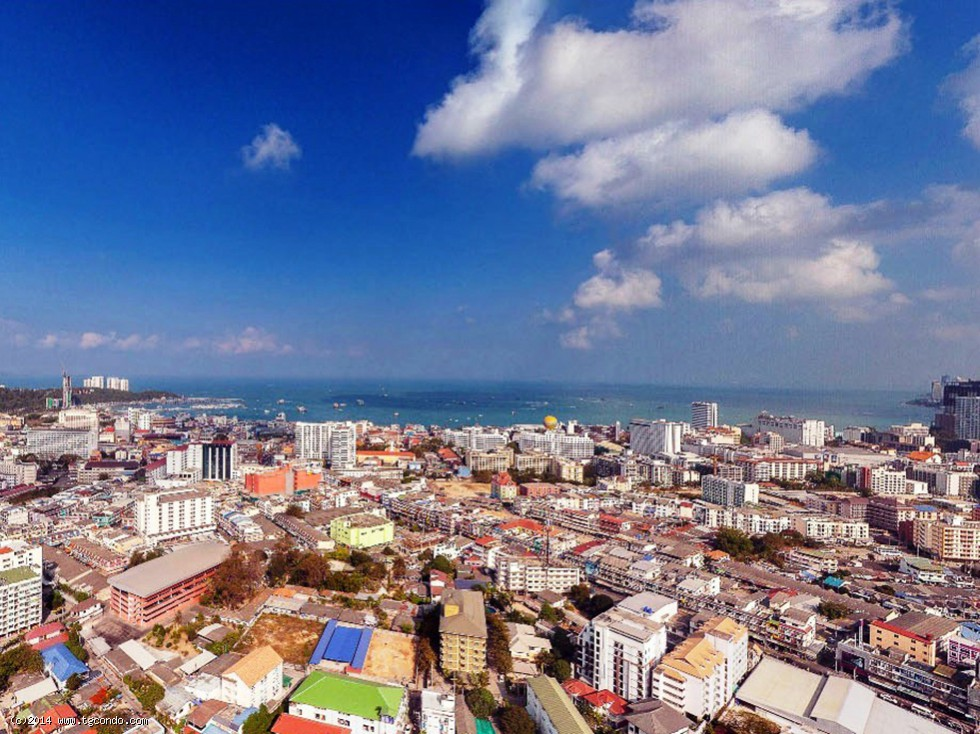 City Garden Tower Pattaya Condo for Sale 44sqm 1Bed