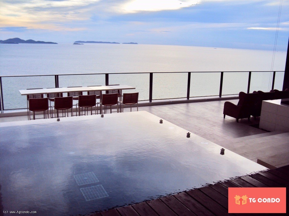 North Point Pattaya 3 Beds Room For Rent