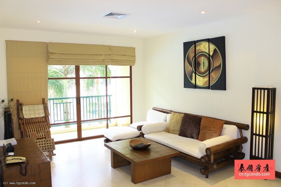 Bright 2 Bedroom Apartment for Sale in Bangtao