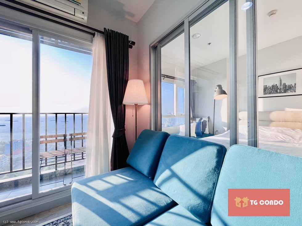 Centric Sea Pattaya for Sale 1Bed Front Sea View 27th Floor